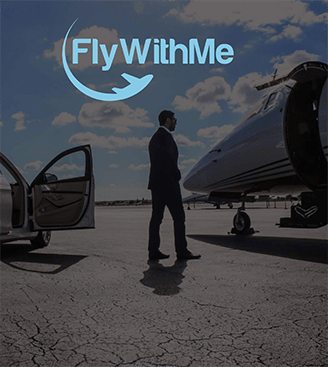 Fly With Me Logo Design