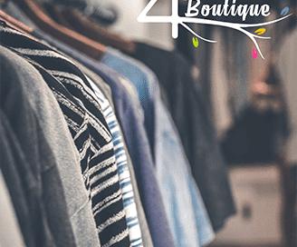 The Four's Boutique Logo Design