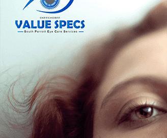 Value Eye Specs Logo Design