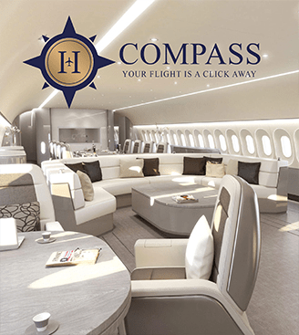 Compass Flight Logo Design