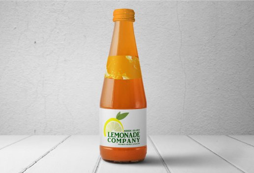 Lemonade Company Bottle