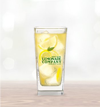Lemonade Company Glass