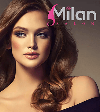 Milan Salon Logo Design