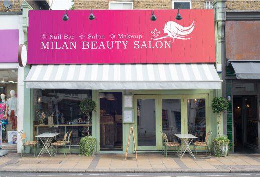 Milan Salon Signage