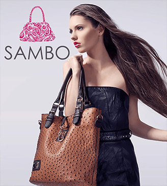 Sambo Hand Bag Logo Design