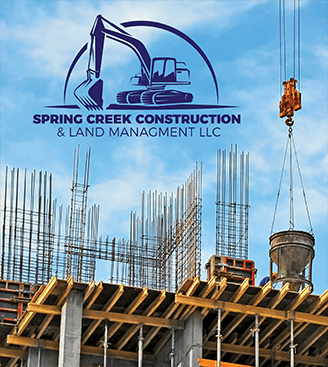 Spring Construction Logo Design