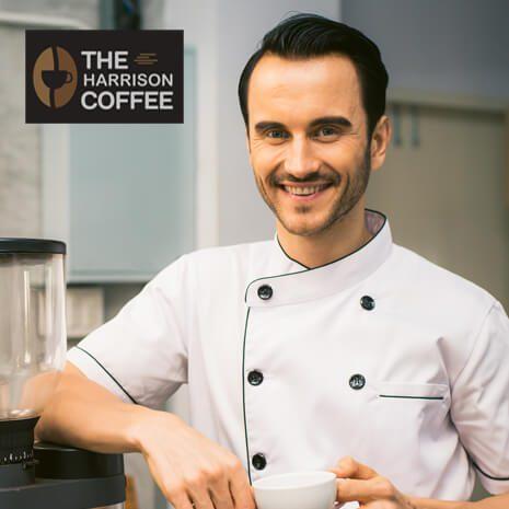 Harrison Coffee - Professional Logo Design
